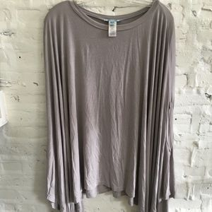 T-Shirt Off-The-Shoulder Tunic